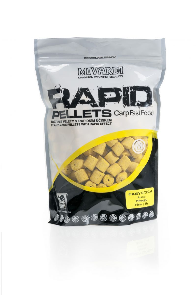 Mivardi - Rapid Pelety Easy Catch Ananás 1kg 12mm
