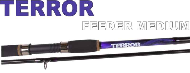 SPORTS Feeder prúty JVS Terror 3-diel- 3,90m / 30-80g Medium heavy