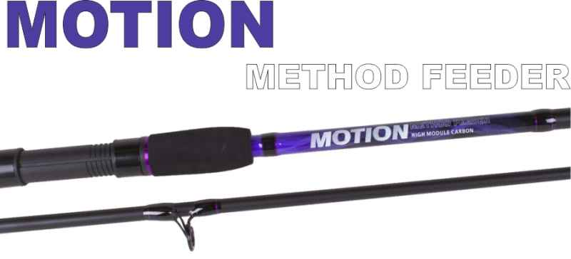 SPORTS Method feeder prúty JVS Motion 2-diel-3,30m / 30-85g