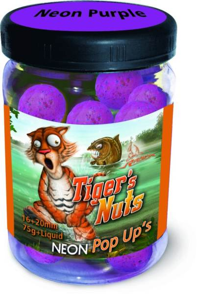 Pop-Up Reflexné Boilies Radical 16+20 mm-Tiger´s nuts