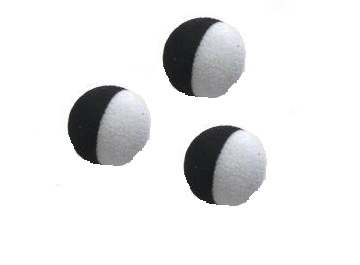 Zig Balls Pop-Up Black/ White