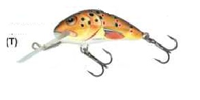 Wobler Salmo Hornet 5F / T