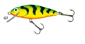Wobler Salmo Perch 8F / GT