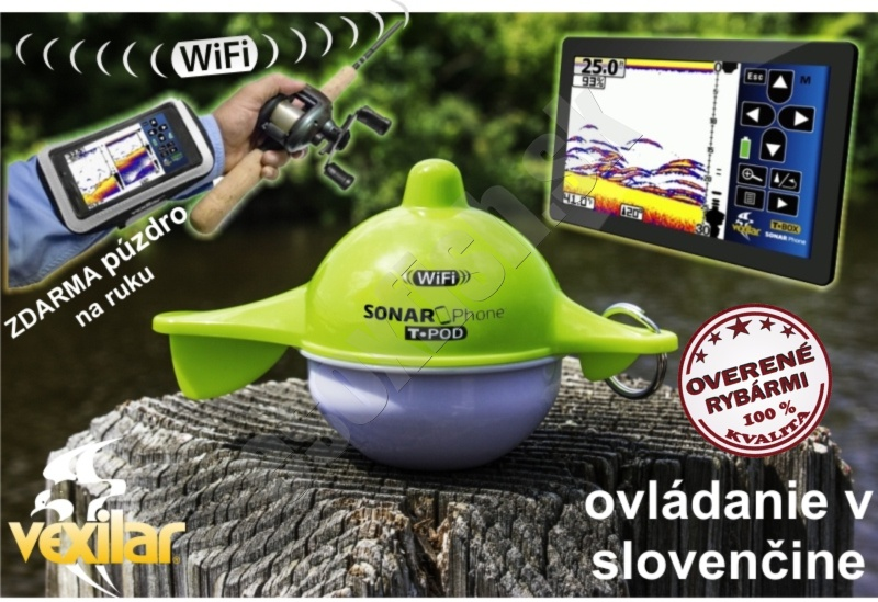 Vexilar Sonar Sonarphone SP100 Wifi - tablet, smartfon