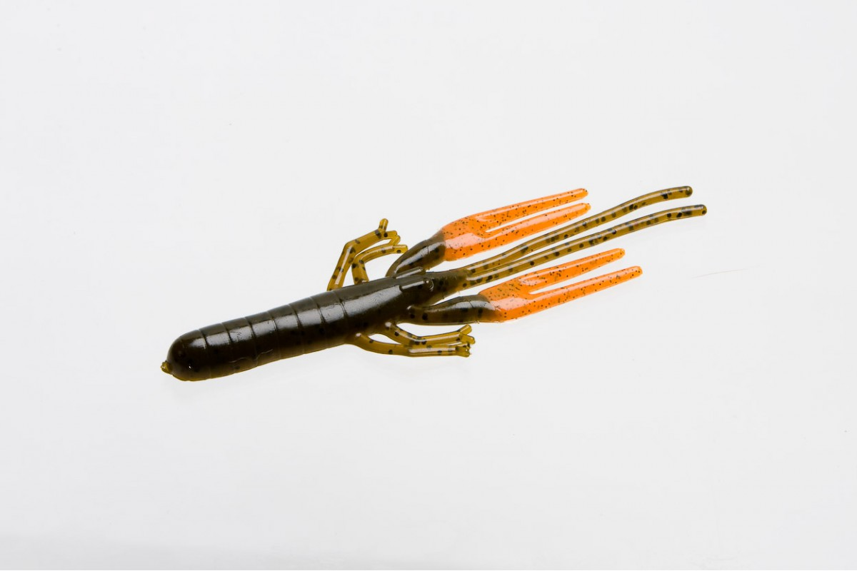 ZOOM Big Critter Craw, Green Pumpkin Orange 10 ks