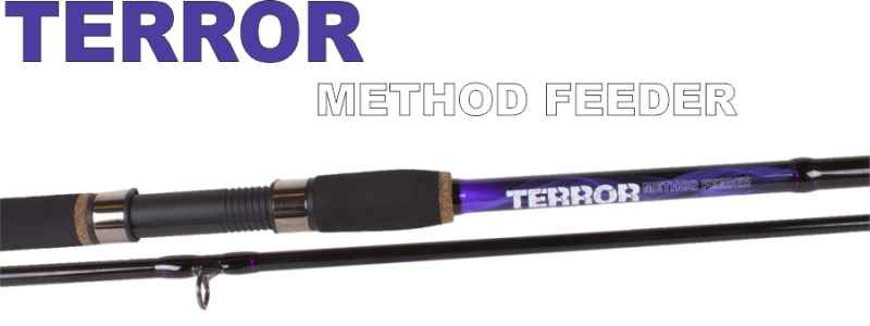 SPORTS Method feeder prúty JVS Terror 2-diel-3,30m / 20-60g