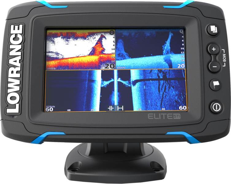 Sports Dotykový sonar LOWRANCE Elite-5Ti so sondou na more