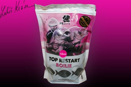 Mini Boilies TopRestart Black Protein 12 mm