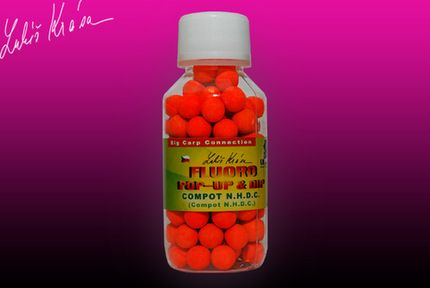 Pop-Up Boilies Fluoro Compot N.H.D.C. 10 mm