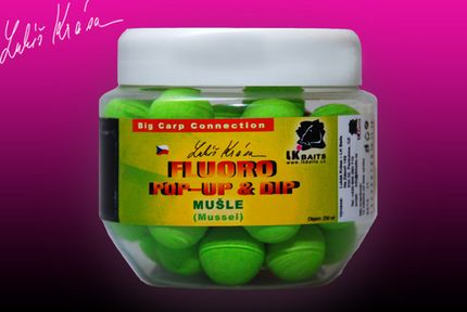 Pop-Up Boilies Fluoro Mussel 18 mm