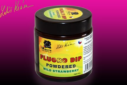 Dip Restart Fluoro Wild Strawberry Powdered -suchý, svietiaci