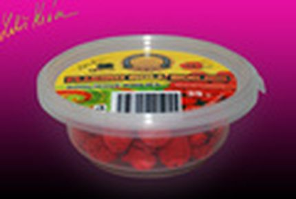 Rohlíkové boilies Fluoro Wild Strawberry 14 mm