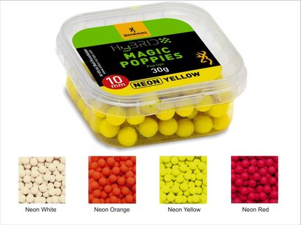Mini FLUO Pop-up Boilies 10 mm