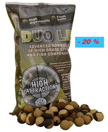 Boilies Starbaits DUO LF / 20 mm