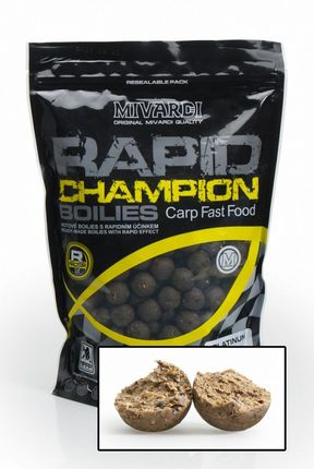 Boilies Rapid Champion Platinum Crazy Liver / 180 g