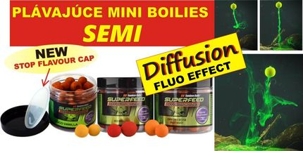 Diffusion Pop-Up SuperFeed Mini Boilies 12 mm