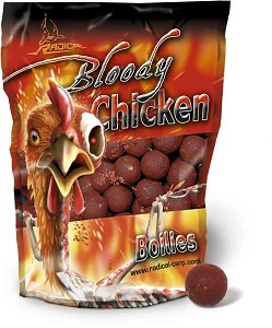 Boilies Radical Bloody Chicken / 16 mm