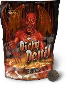 Boilies Radical Dirty Devil / 24 mm