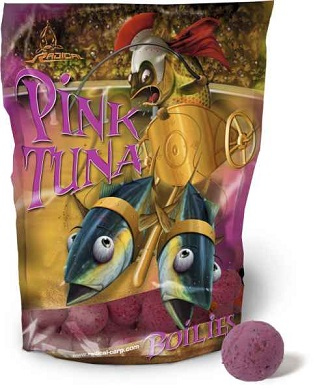 Boilies Radical Pink Tuna / 16 mm