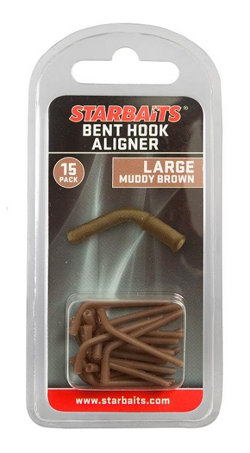 Rovnátko Bent Hook Aligner Large / Muddy Brown